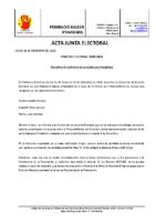 ACTA JUNTA ELECTORAL PROCLAMACION DEFINITIVA PRESIDENTE